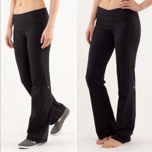 Lululemon Astro Pant Leggings Solid Black Size 4